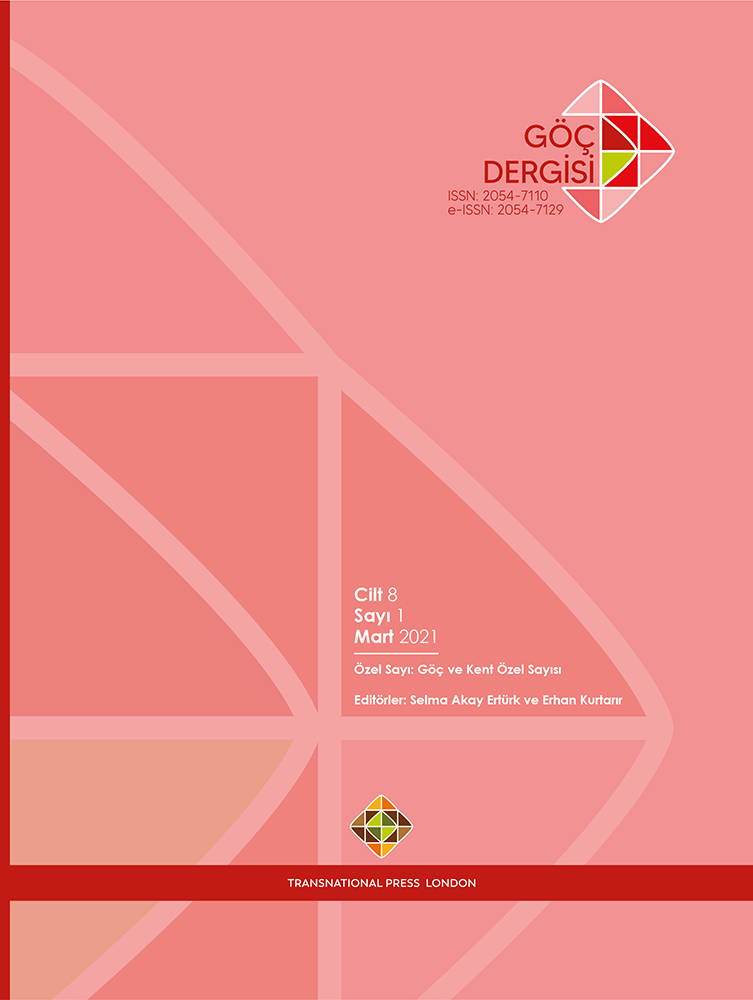 Göç Dergisi - Vol8 - No1 - 2021