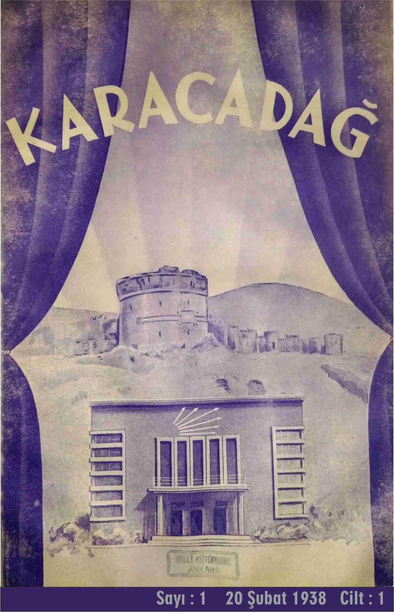 Halkevi Dergileri: Diyarbakır Karacadağ Sayı 1