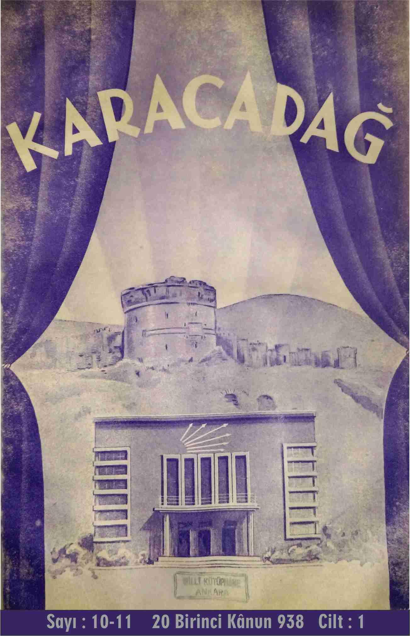 Halkevi Dergileri: Diyarbakır Karacadağ Sayı 10-11
