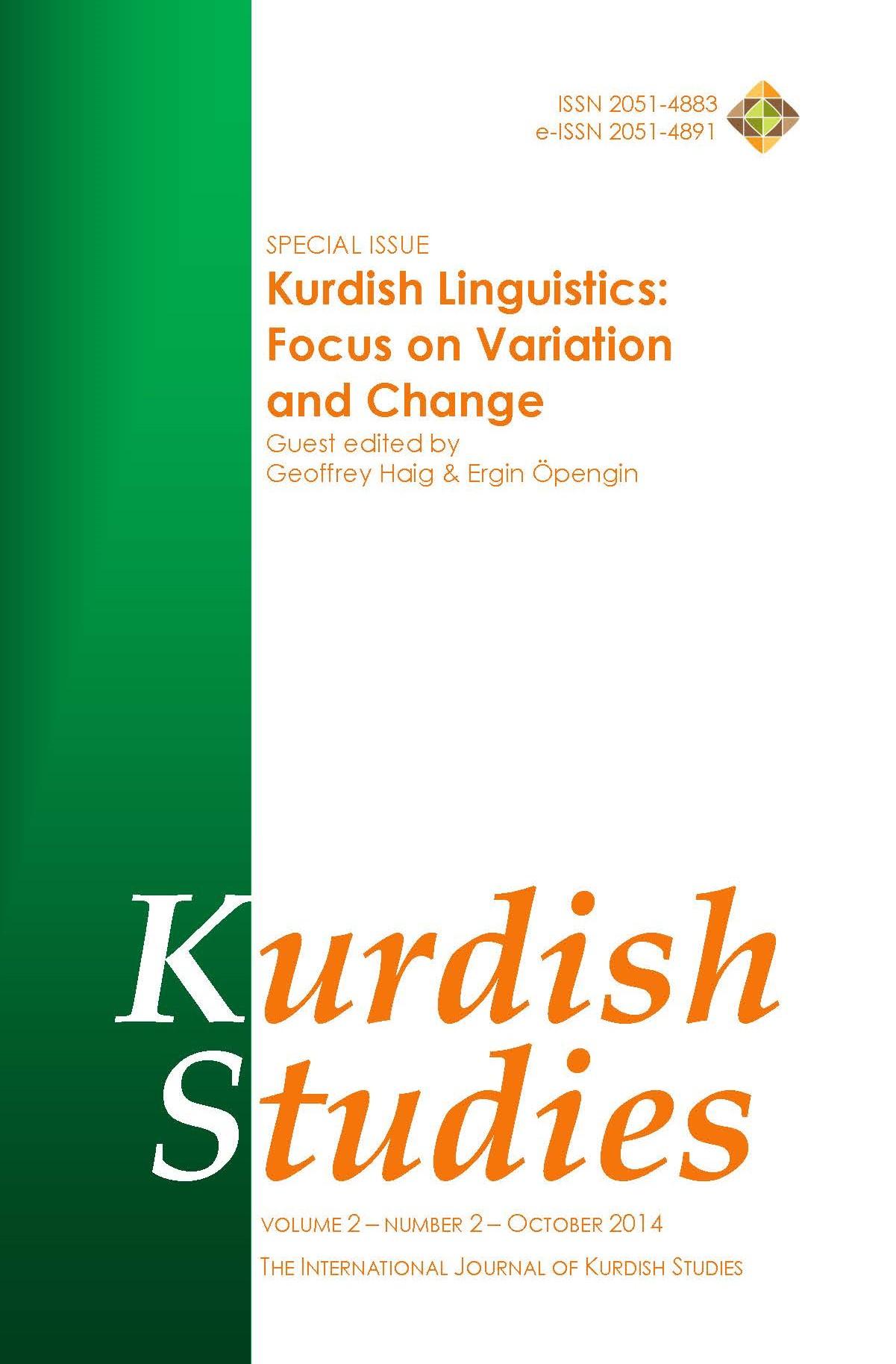 Kurdish Studies 2014-2