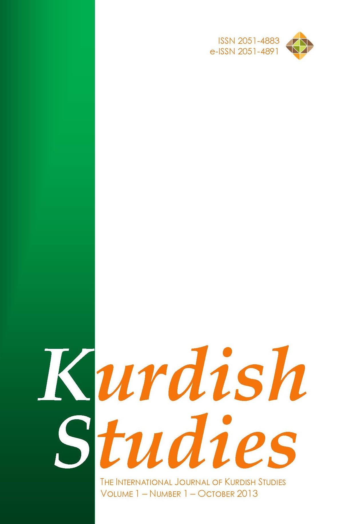 Kurdish Studies 2013