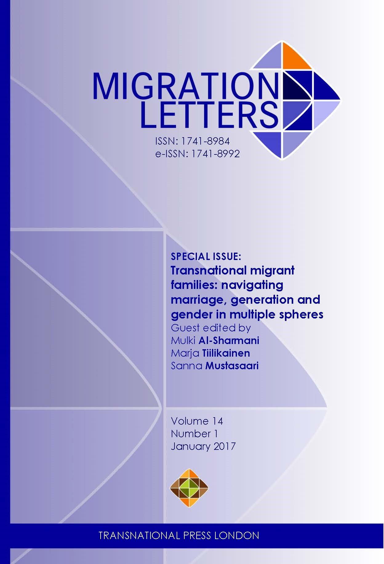 Migration Letters 2017-1