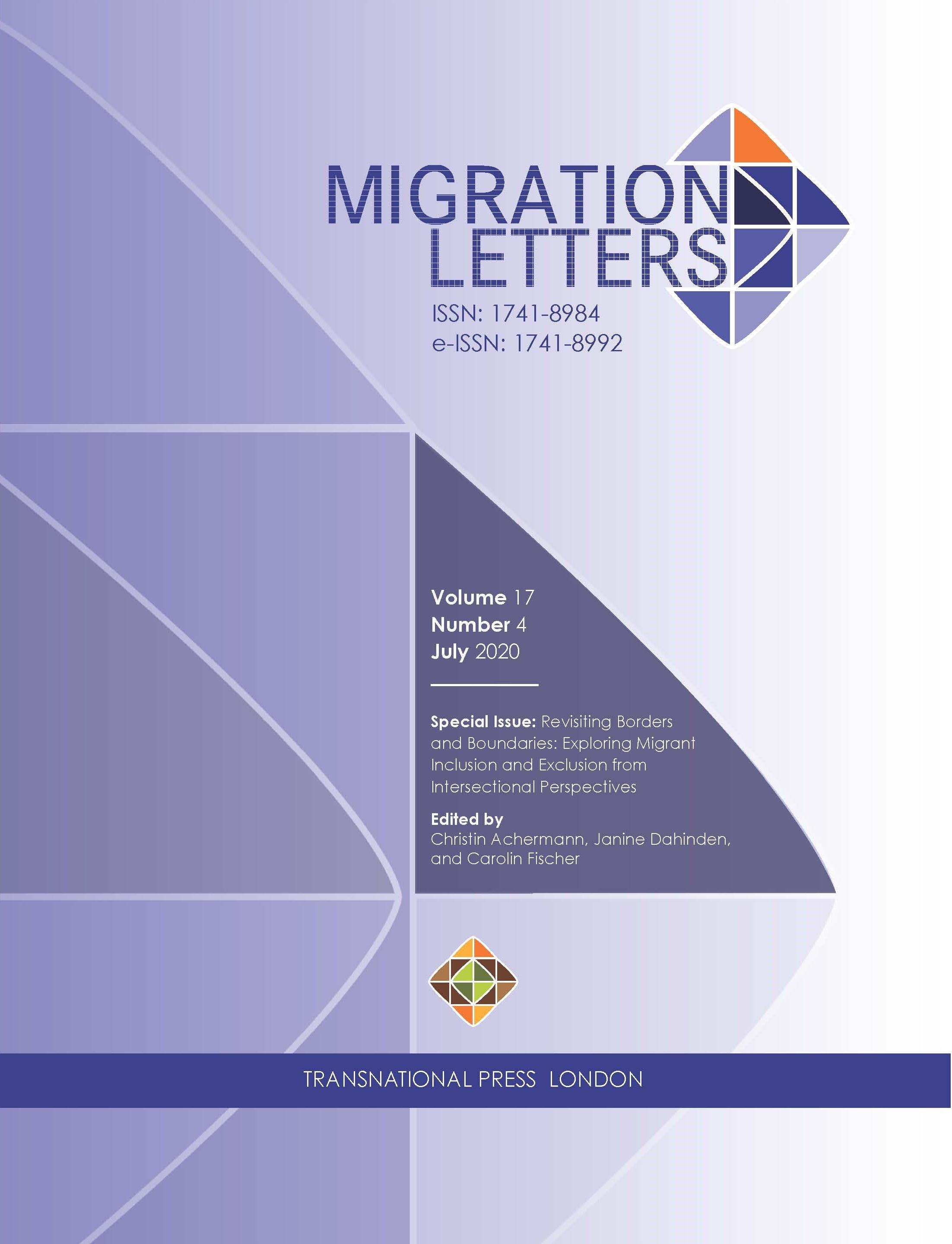 Migration Letters 2020-4