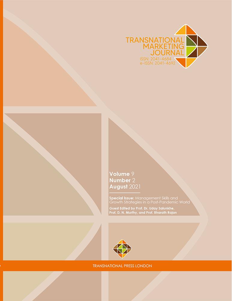 Transnational Marketing Journal - Vol9 - n2 - 2021